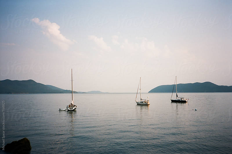 Sail Boats by Michael Spear for Stocksy United