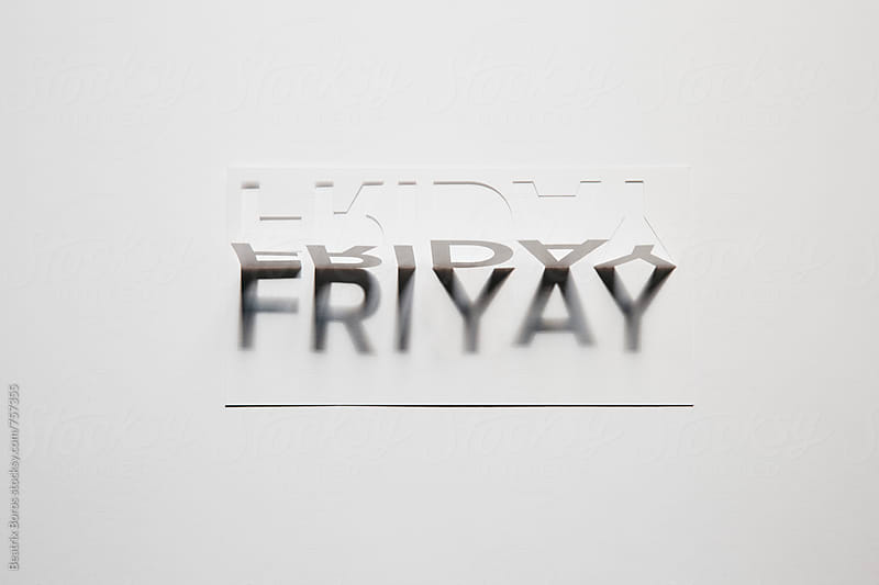 Happy time, it's Friday, the beginning of weekend by Beatrix Boros for Stocksy United