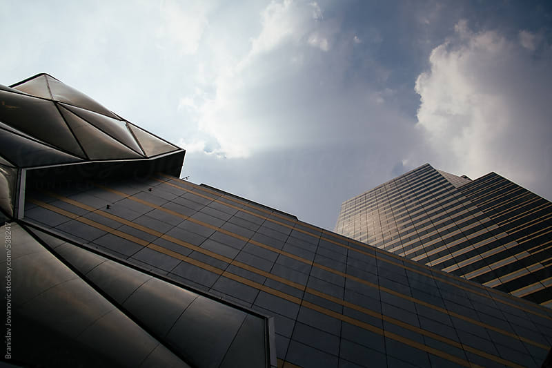 Modern building facade by Branislav Jovanović for Stocksy United