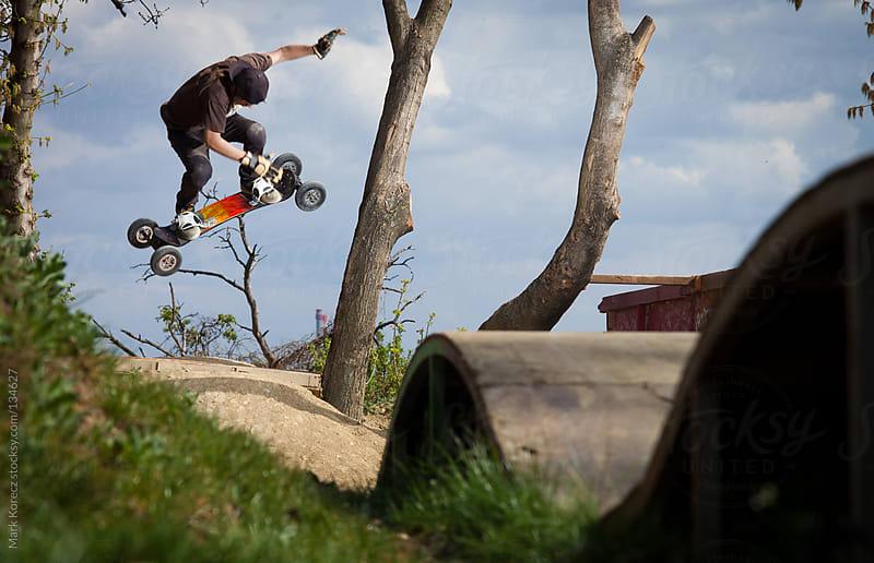 Dirtboarding by Mark Korecz for Stocksy United