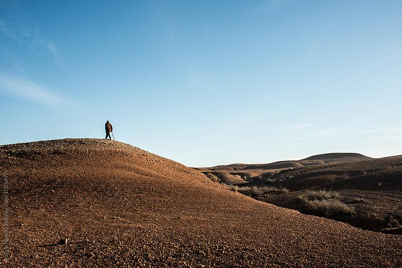 Desert Walker by craig ferguson for Stocksy United