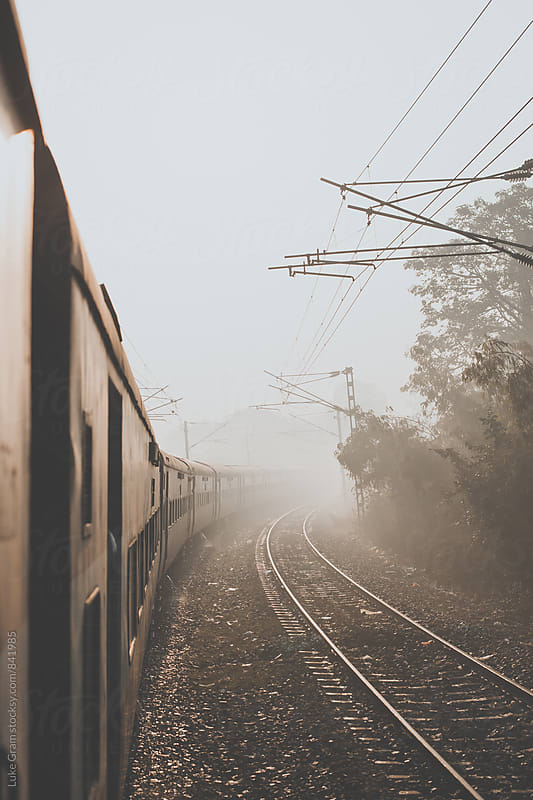 Indian Railways by Luke Gram for Stocksy United
