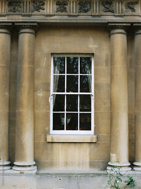 Window in Bath, UK by Kirstin Mckee for Stocksy United