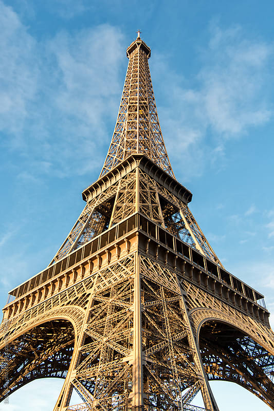 Eiffel Tower, Paris by Bisual Studio for Stocksy United
