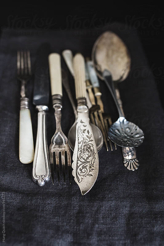 Vintage Cutlery by Hung Quach for Stocksy United