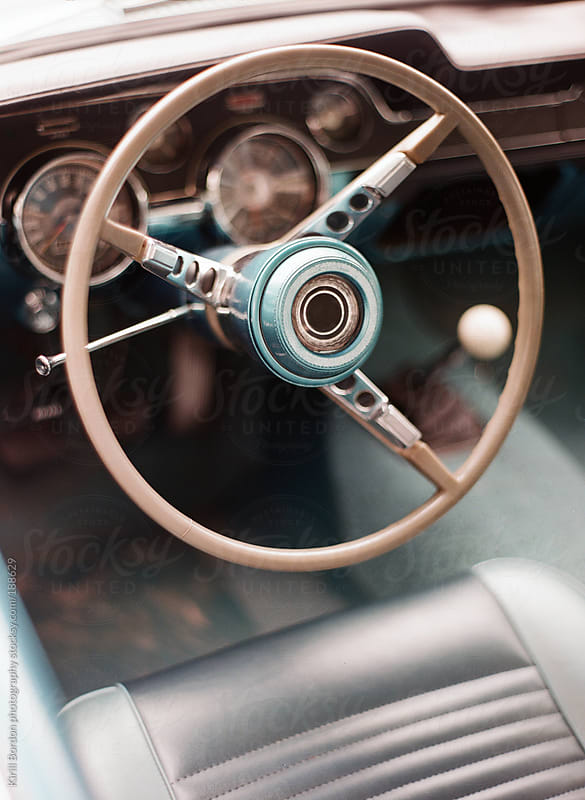 vintage car by Kirill Bordon photography for Stocksy United