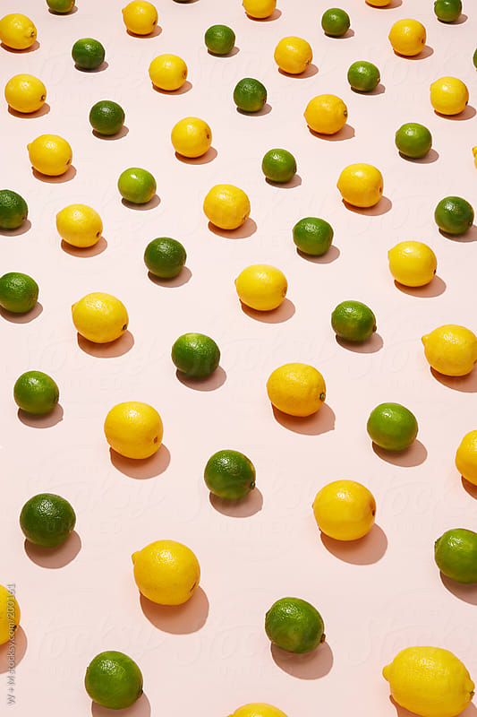 Lemons and Limes by W + M for Stocksy United
