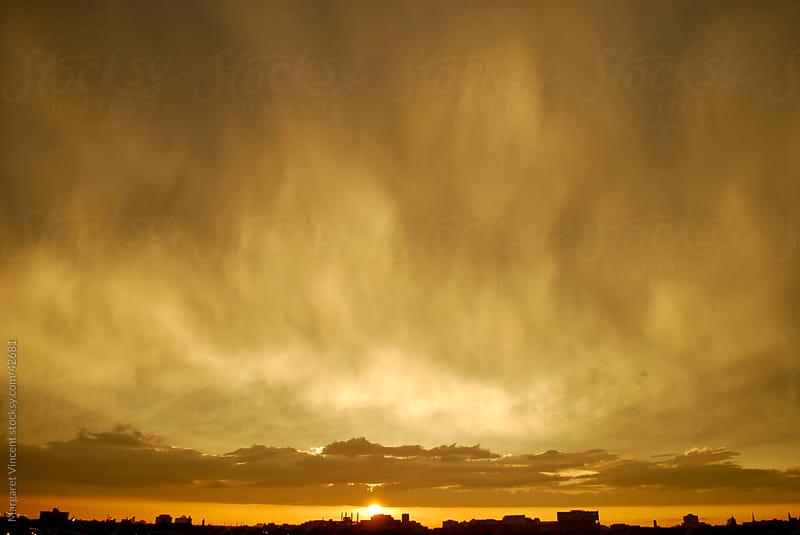 sunset sky by Margaret Vincent for Stocksy United