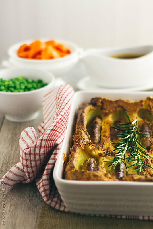 Toad In The Hole vertical by Kirsty Begg for Stocksy United