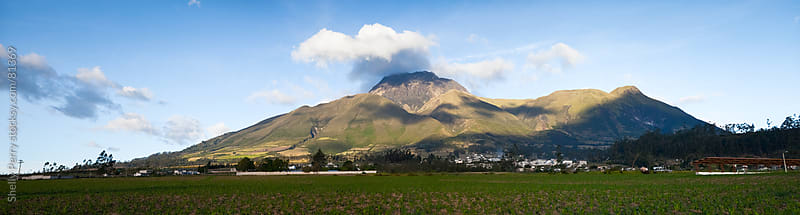 Imbabura a volcano in northern Ecuador  by Shelly Perry for Stocksy United