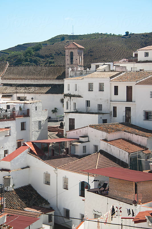 Almachar, Andalusian village by ACALU Studio for Stocksy United