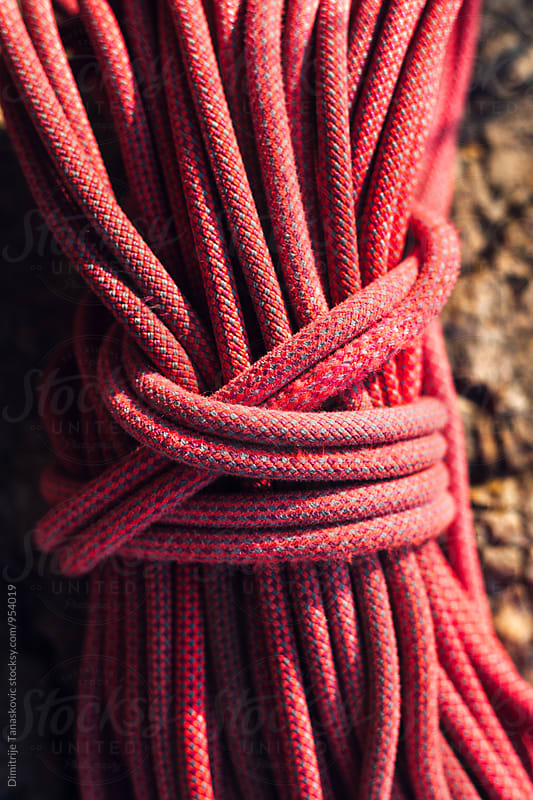 Climbing rope by Dimitrije Tanaskovic for Stocksy United