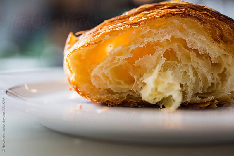 croissant - digital file by Andrew Cebulka for Stocksy United