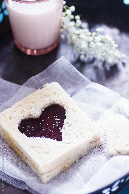 Valentine's day breakfast by Milena Milani for Stocksy United