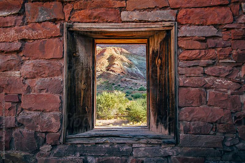 Window to the Desert by Benjamin Schedler for Stocksy United