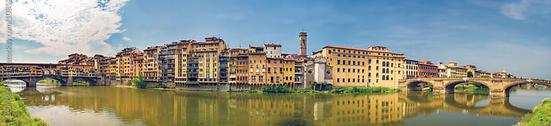 Panorama of Florence by Leander Nardin for Stocksy United