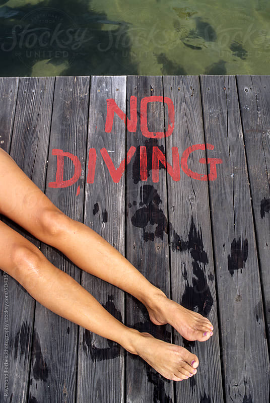 No Diving by Raymond Forbes LLC for Stocksy United