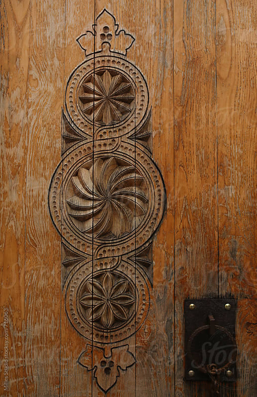 Ornament on door by Milles Studio for Stocksy United