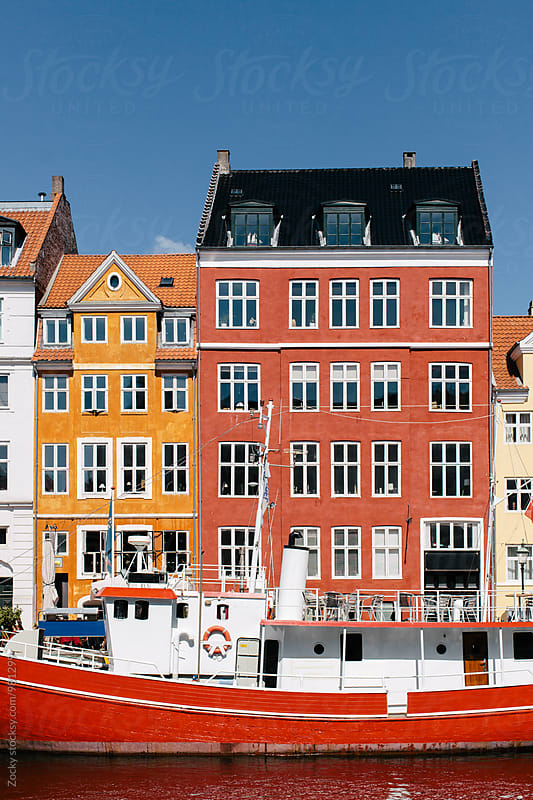 Nyhavn Harbor in Copenhagen by Zocky for Stocksy United