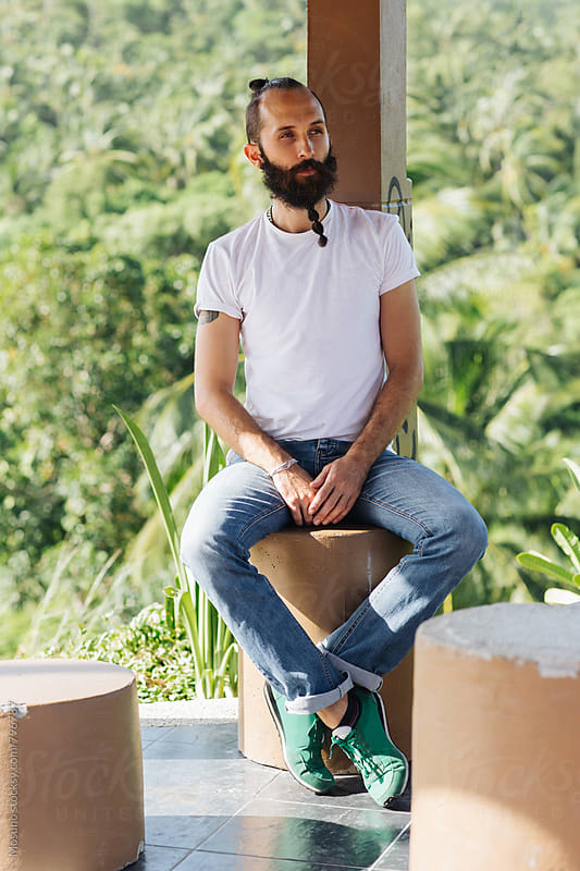 Man With Beard by Mosuno for Stocksy United