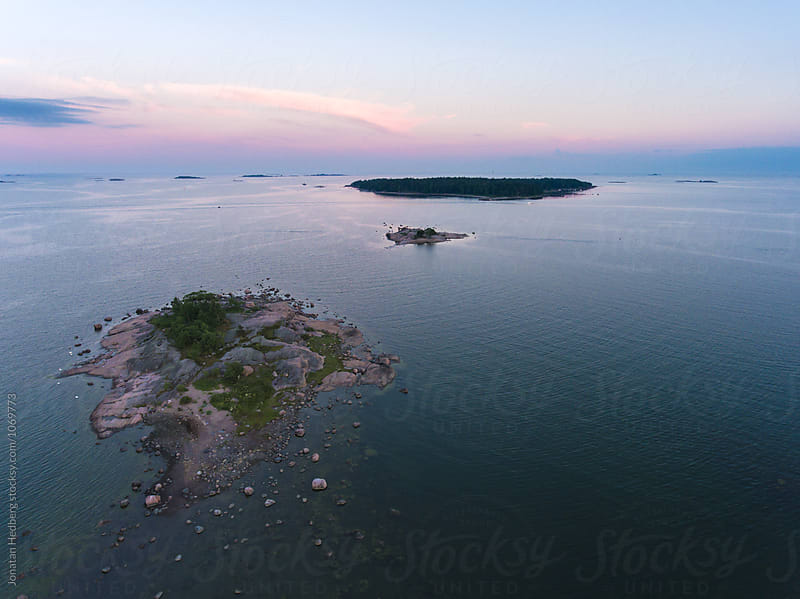 The archipelago outside of Helsinki by Jonatan Hedberg for Stocksy United