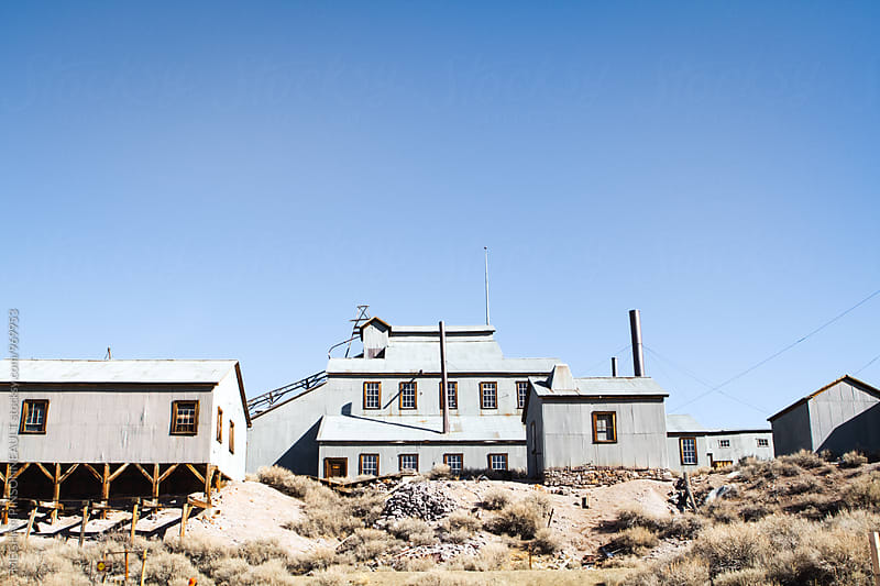 Old Abandoned Gold Mine in Ghost Town by MEGHAN PINSONNEAULT for Stocksy United