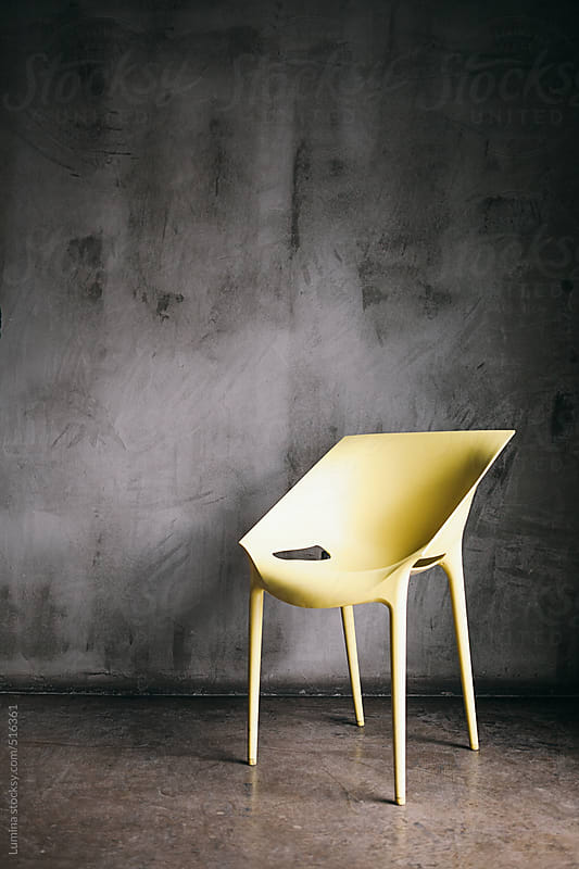 Yellow Chair by Lumina for Stocksy United