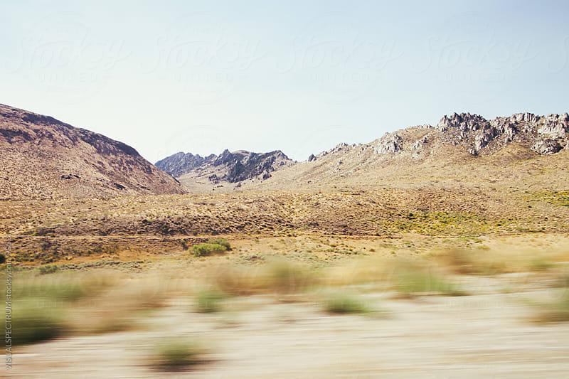 Dry Sierra Nevada Landscape by VISUALSPECTRUM for Stocksy United