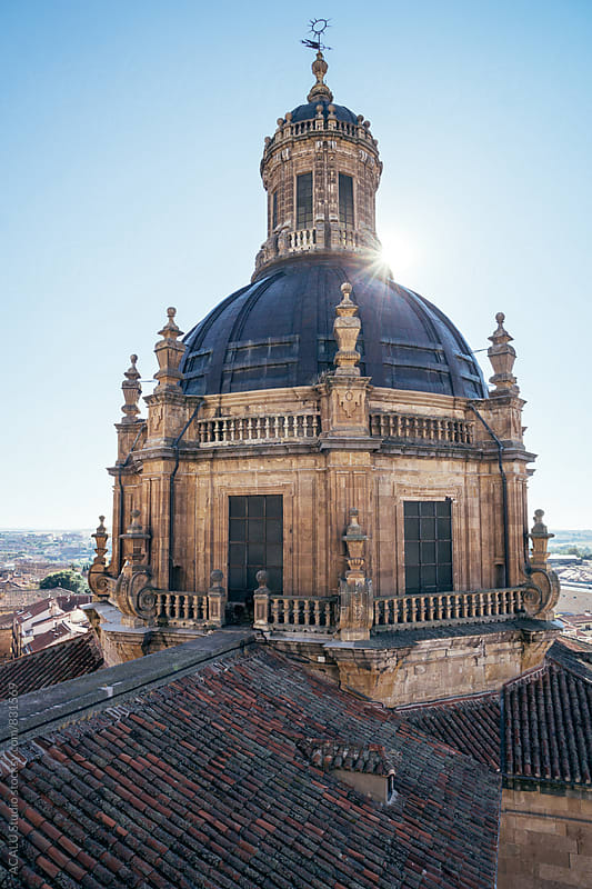 Baroque dome with sun ray by ACALU Studio for Stocksy United
