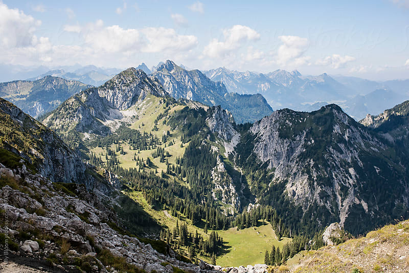 Landscape at the Allgäu Alps by Lilly Bloom for Stocksy United