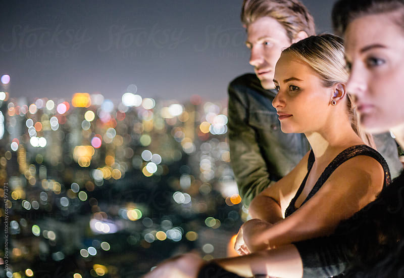 Amazing view over the city - Good friends by Jovo Jovanovic for Stocksy United