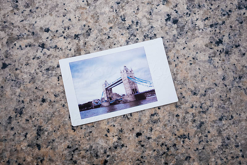 Polaroid of London by Good Vibrations Images for Stocksy United