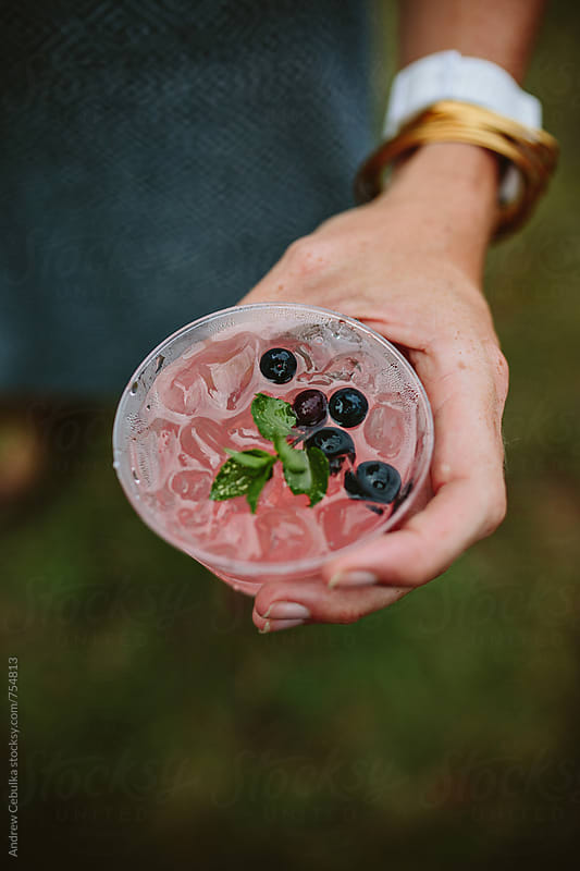 Summer Cocktail drink by Andrew Cebulka for Stocksy United