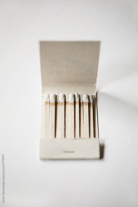 White Matchbook by Victor Deschamps for Stocksy United