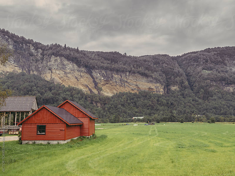Old Barn by VICTOR TORRES for Stocksy United