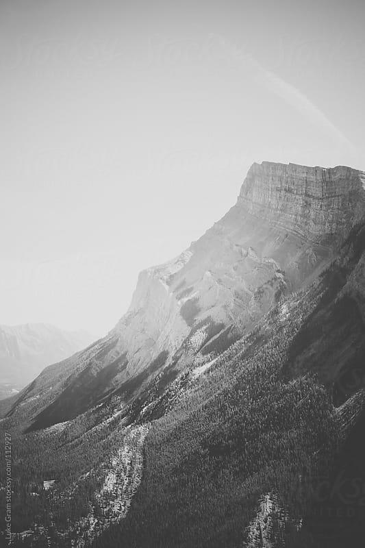 Mount Rundle by Luke Gram for Stocksy United