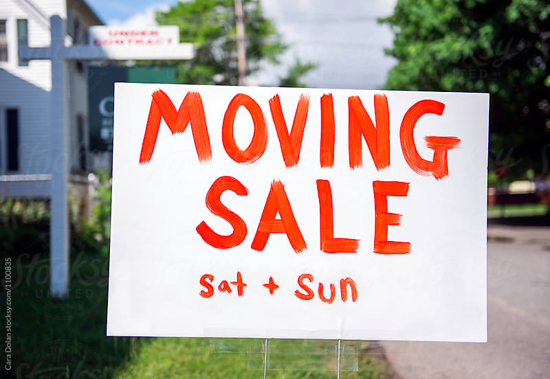 Moving Sale by Cara Dolan for Stocksy United