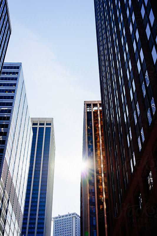 New York City buildings by J.R. PHOTOGRAPHY for Stocksy United