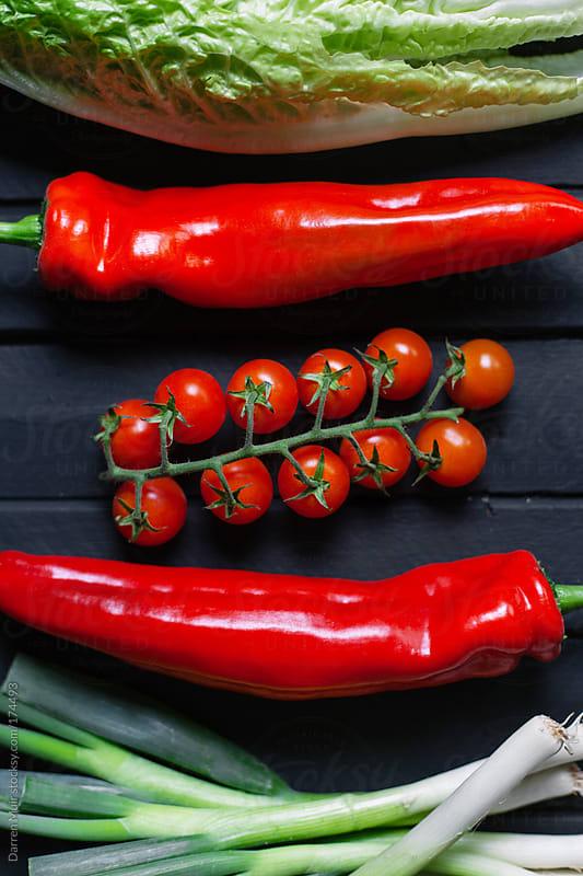 Salad Ingredients.  by Darren Muir for Stocksy United