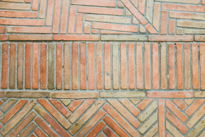 Old brick floor by German Parga for Stocksy United