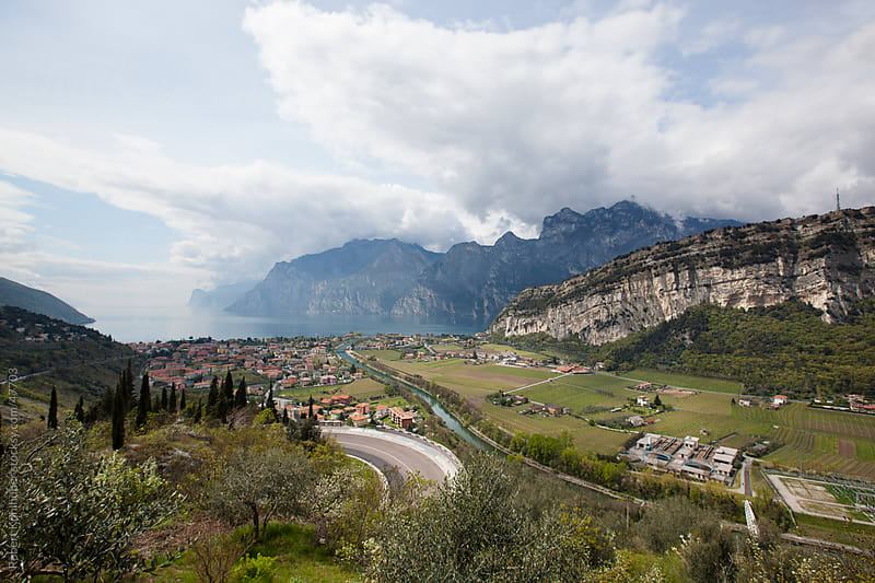 Lake Garda in italy by Robert Kohlhuber for Stocksy United