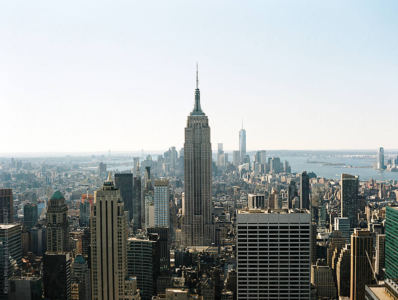 View of the Empire State Building by Kirstin Mckee for Stocksy United