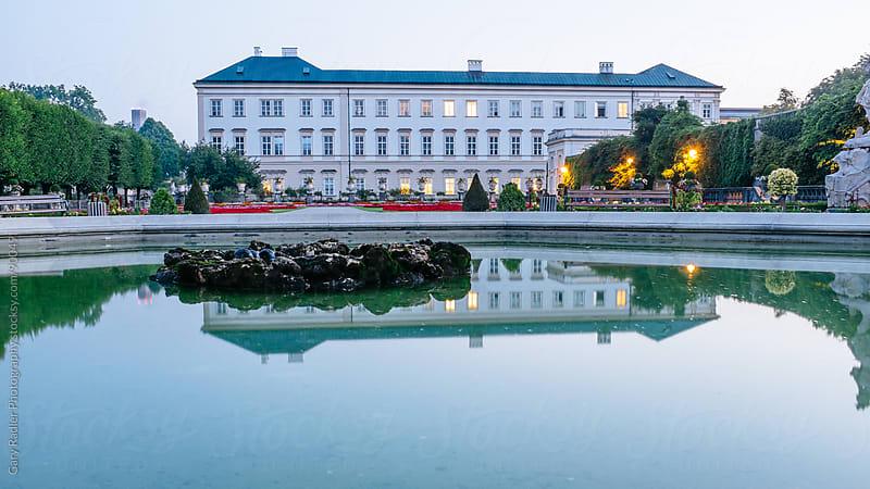 Do Re Mi fountain in Mirabell Garden, Salzburg, Austria by Gary Radler Photography for Stocksy United