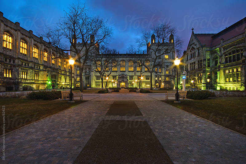 Up the Quad by Brian Koprowski for Stocksy United