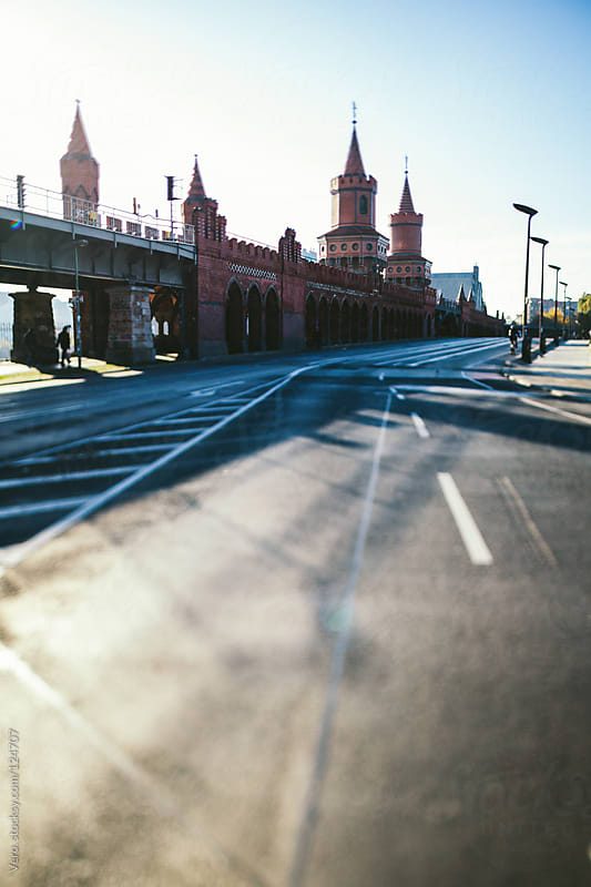 Oberbaum Bridge, Berlin by Good Vibrations Images for Stocksy United