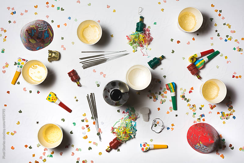 New year's table by Pixel Stories for Stocksy United