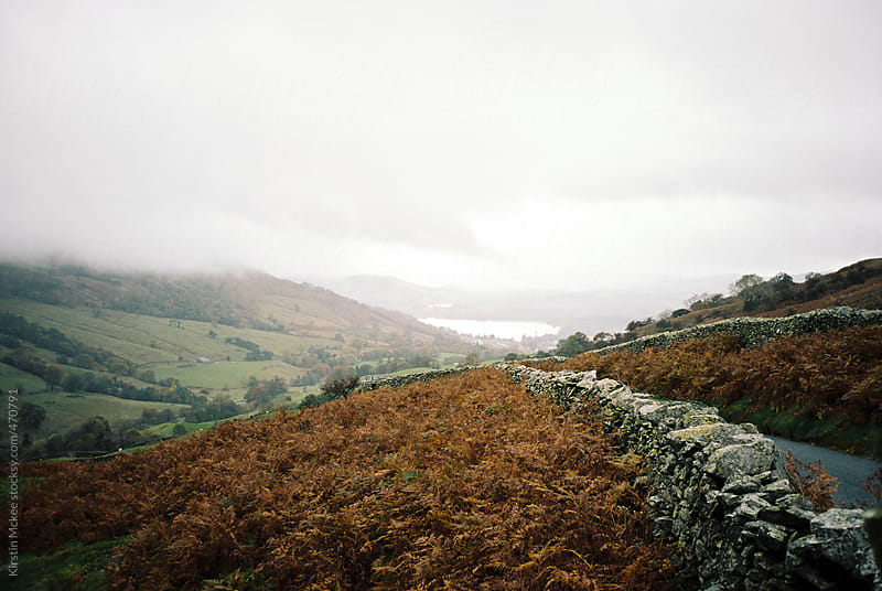 Road in the Lake District by Kirstin Mckee for Stocksy United