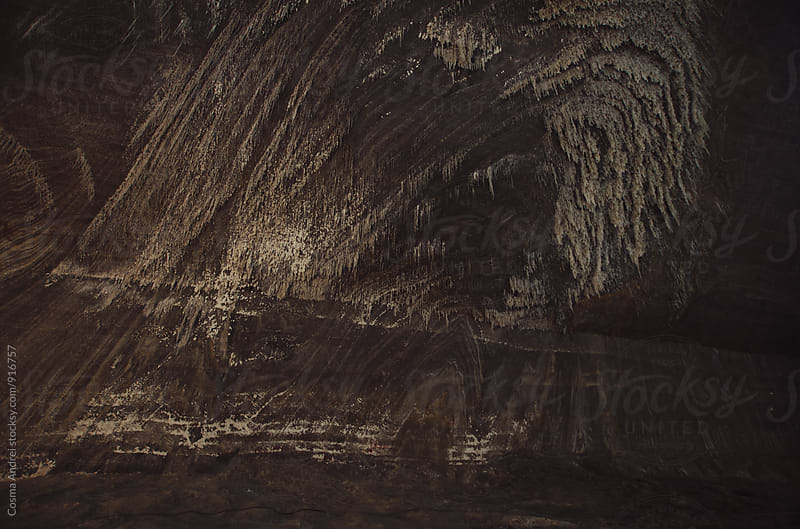 Salt formations in salt mine by Cosma Andrei for Stocksy United