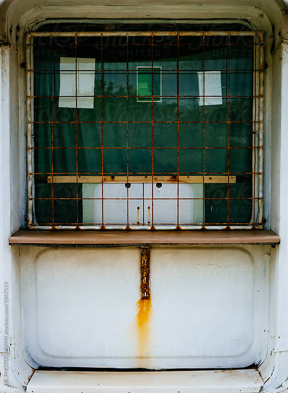 Closed ticket booth by J.R. PHOTOGRAPHY for Stocksy United
