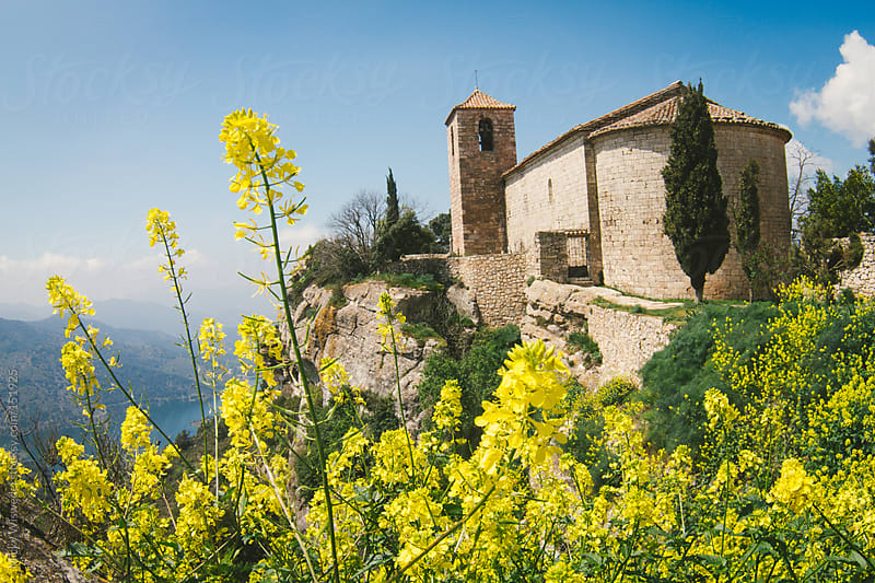 Old church in the town of Siurana in the Catalonia region of Spain by Micky Wiswedel for Stocksy United